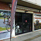 Bike shop in Tuscany